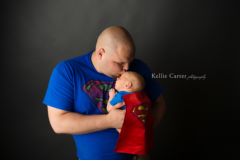 Daddy and Baby Superman