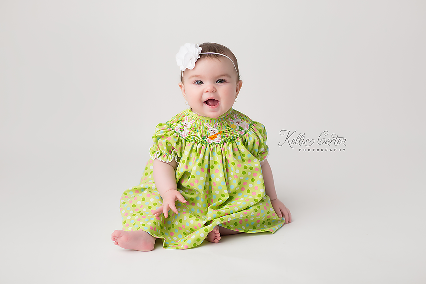 kelliecarterphotography2 Olivia | 6 Months {Childrens Photographer | Somerset, KY}