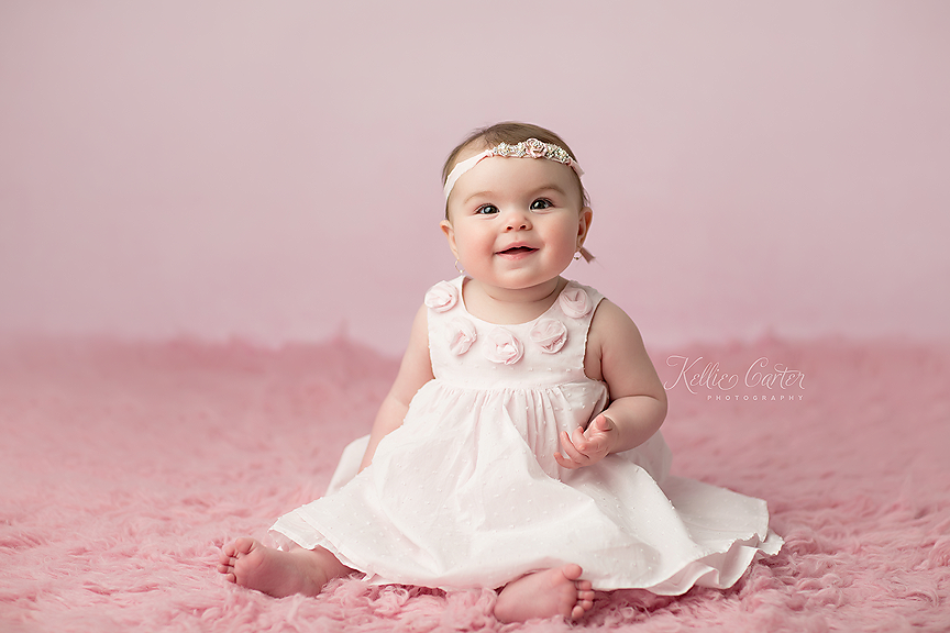 kelliecarterphotography3 Olivia | 6 Months {Childrens Photographer | Somerset, KY}