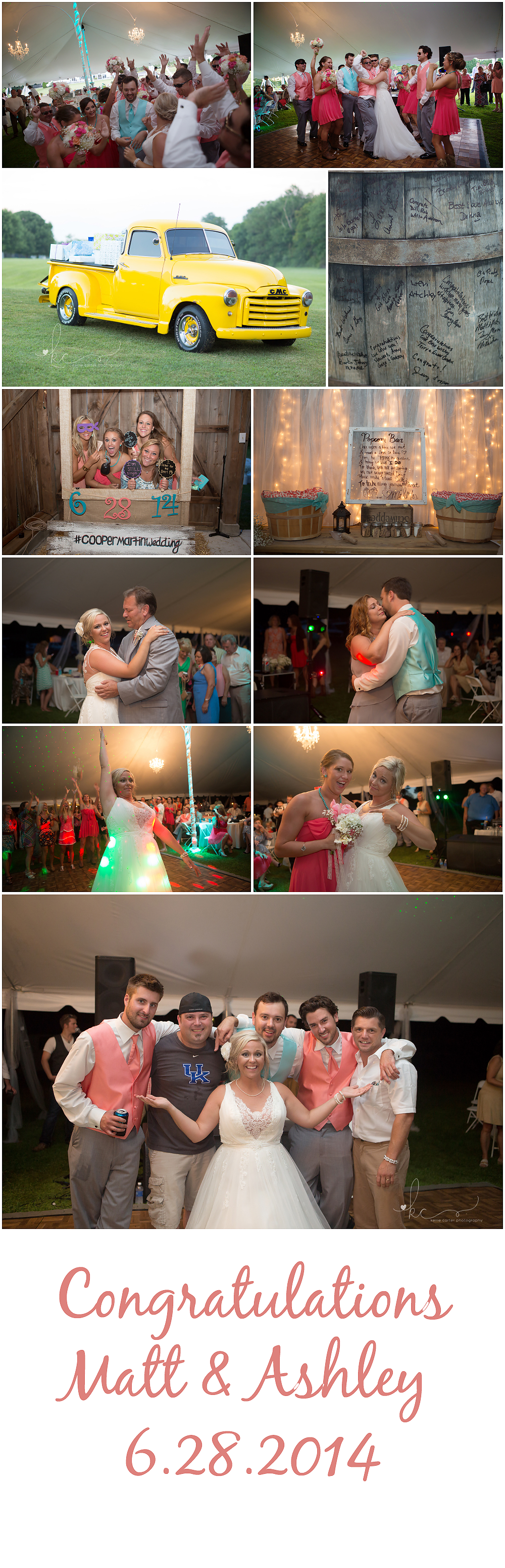 KellieCarterPhotography7 Ashley & Matt are Married {Somerset, KY Wedding Photographer}