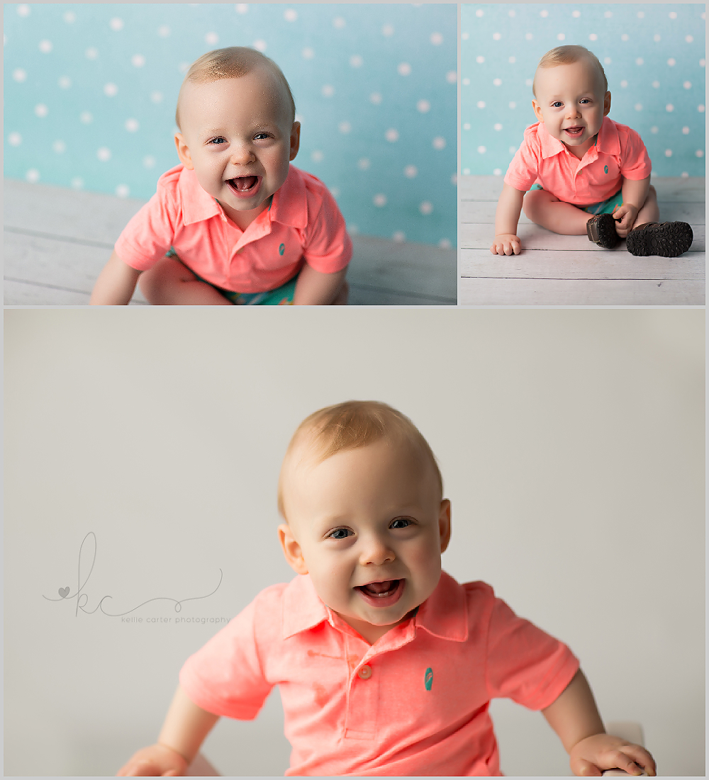 KellieCarter Happy 1st Birthday Brady {Russell Springs Childrens Photographer}