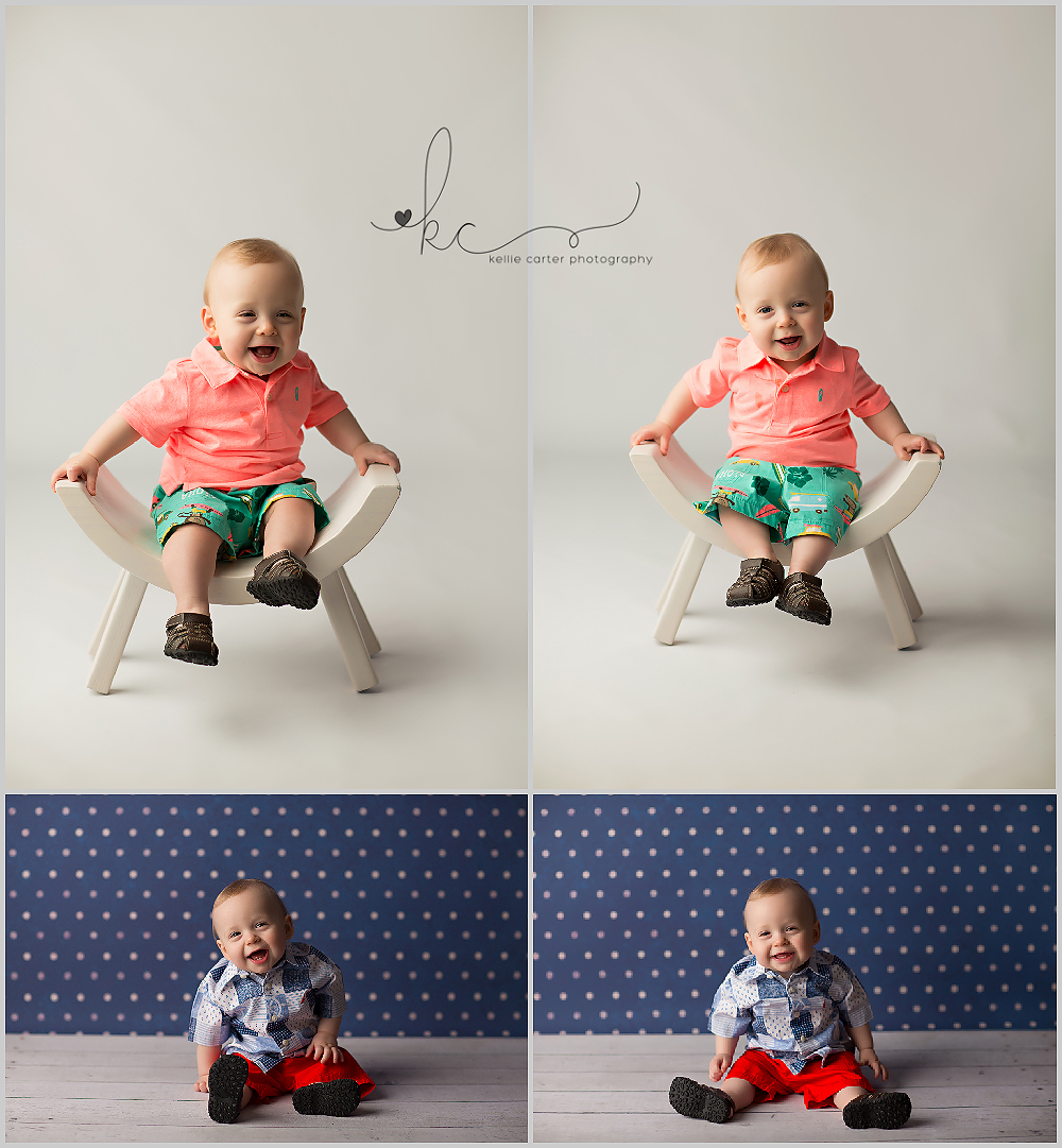 KellieCarter2 Happy 1st Birthday Brady {Russell Springs Childrens Photographer}