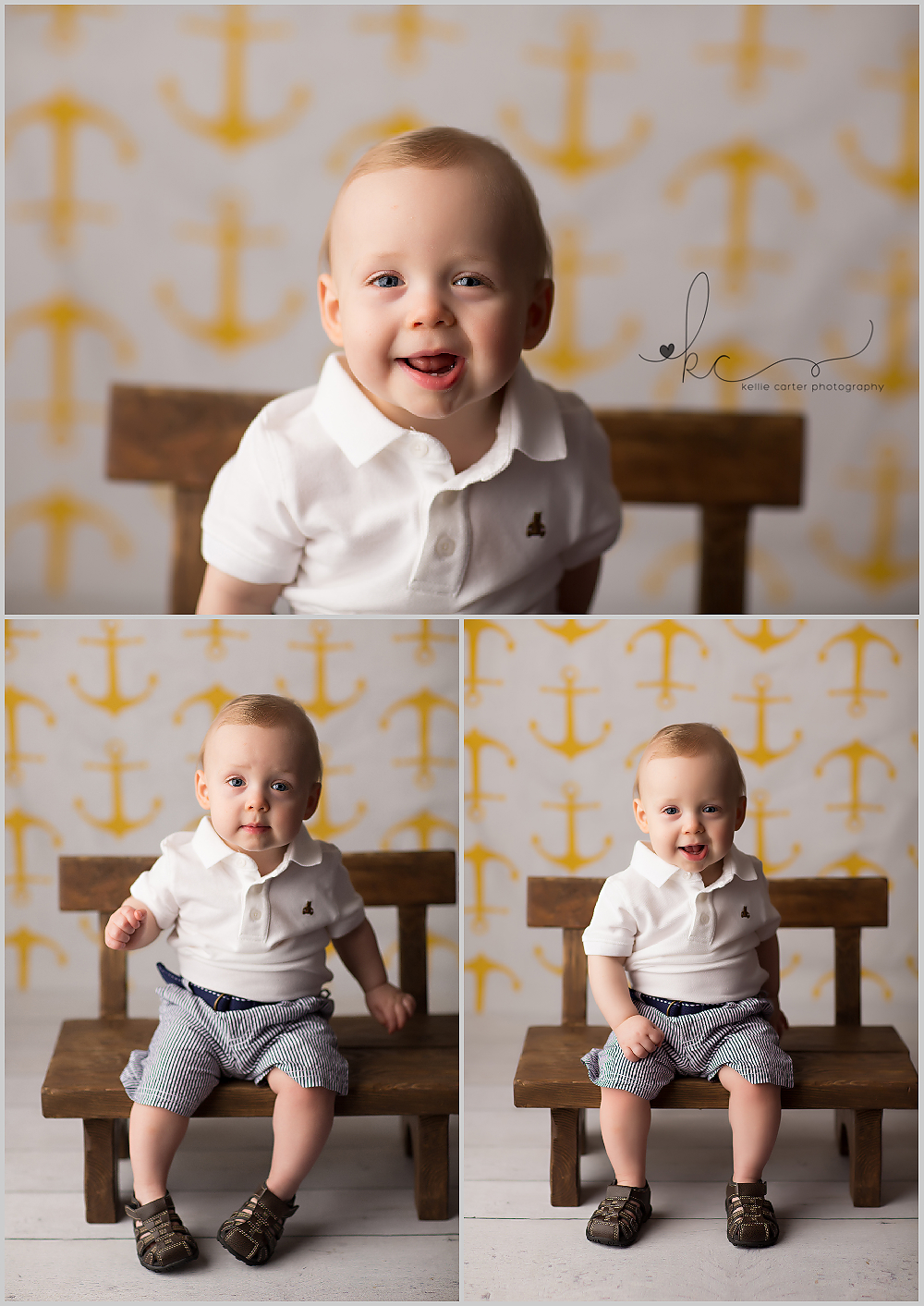 KellieCarter3 Happy 1st Birthday Brady {Russell Springs Childrens Photographer}