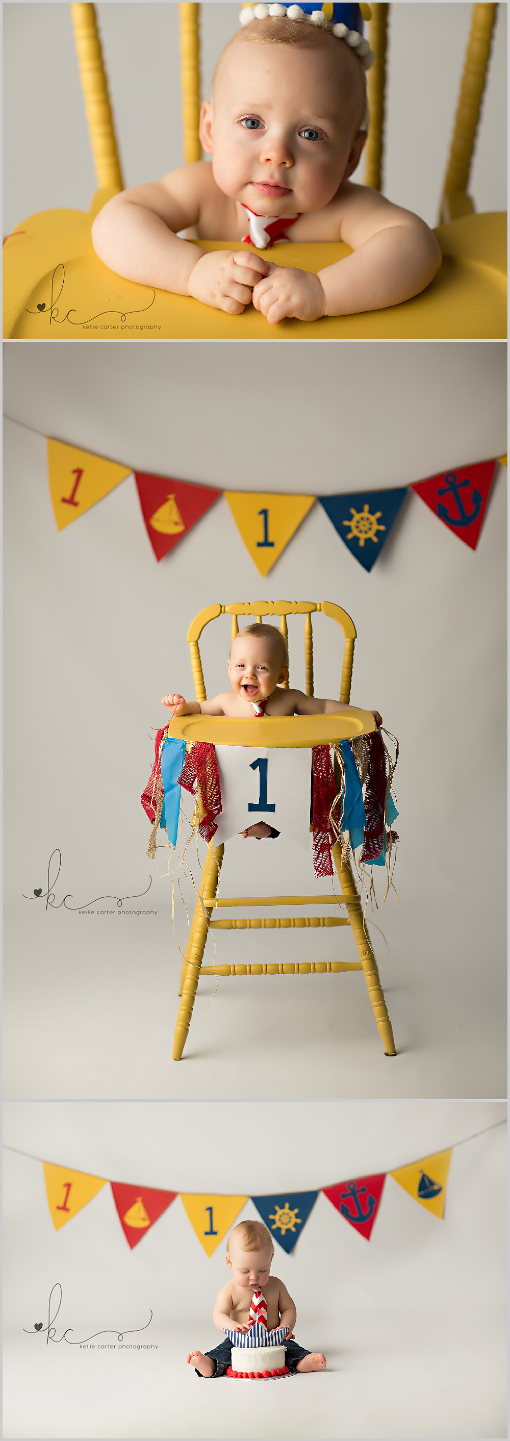 KellieCarter4 Happy 1st Birthday Brady {Russell Springs Childrens Photographer}
