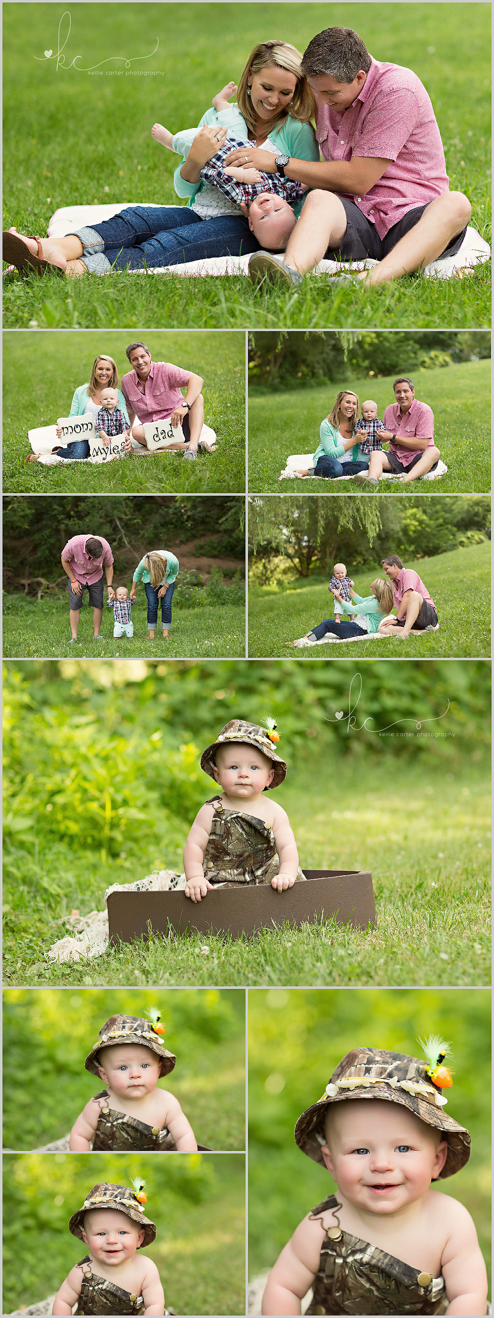 KellieCarterPhotography2 Myles 6 Month Old Milestone Session {Somerset, KY | Childrens Photographer}