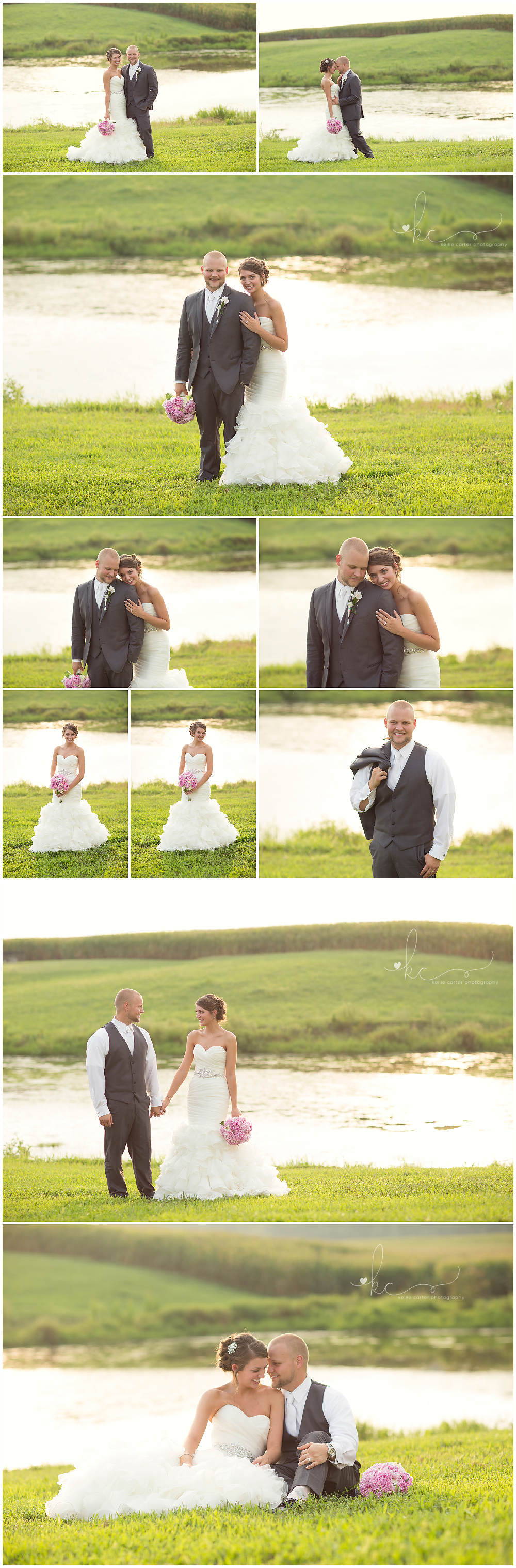 KellieCarterPhotography10 Maggie & Jacob are Married {Monticello KY Wedding Photographer}