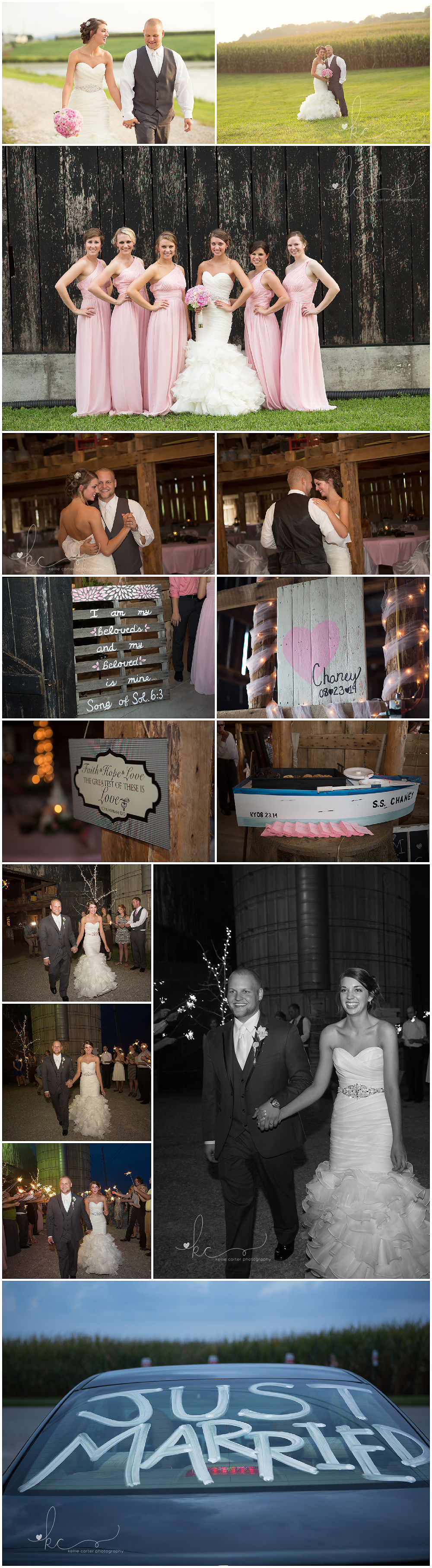 KellieCarterPhotography11 Maggie & Jacob are Married {Monticello KY Wedding Photographer}