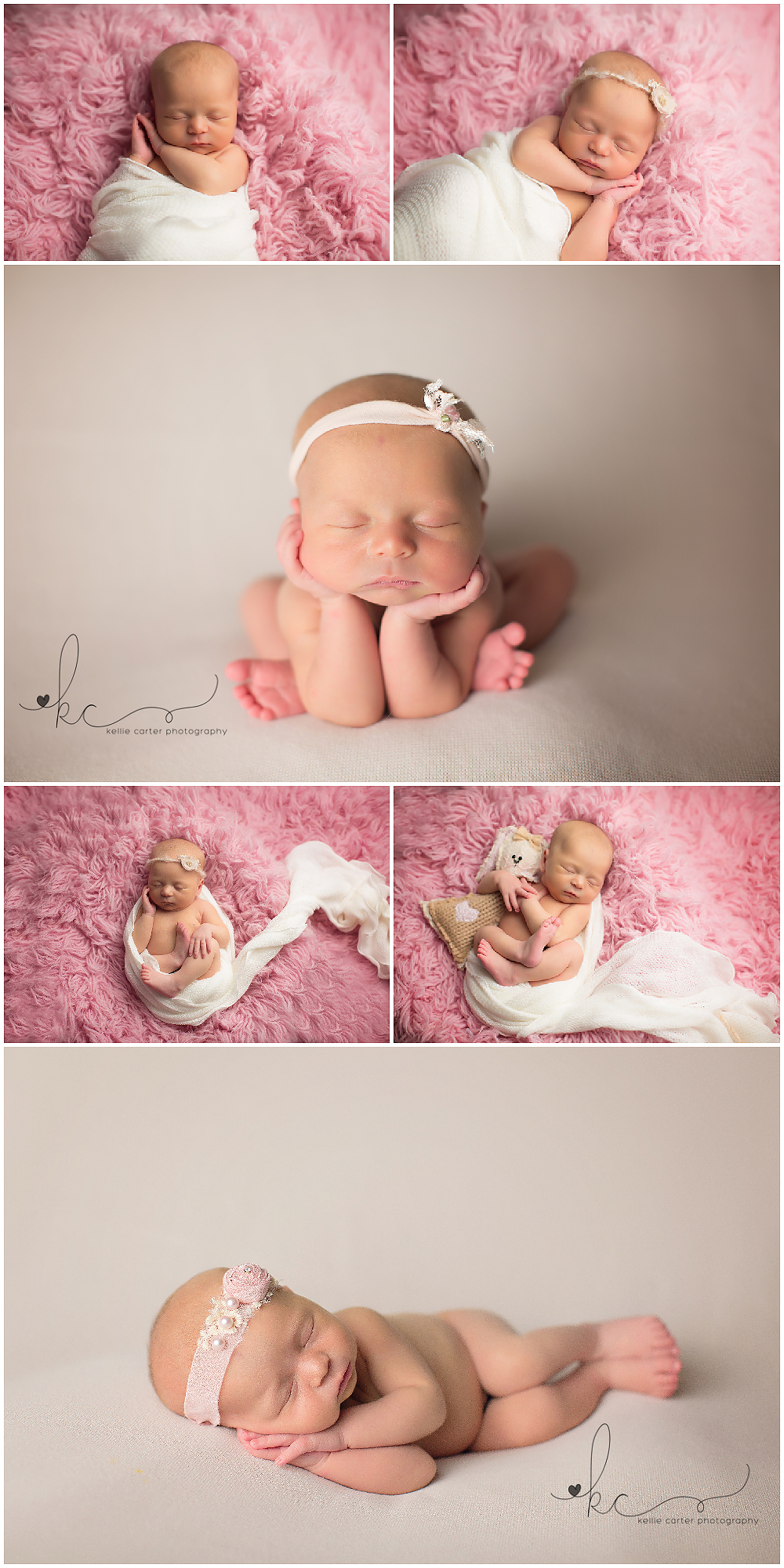 Newborn Photography Session by Kellie Carter