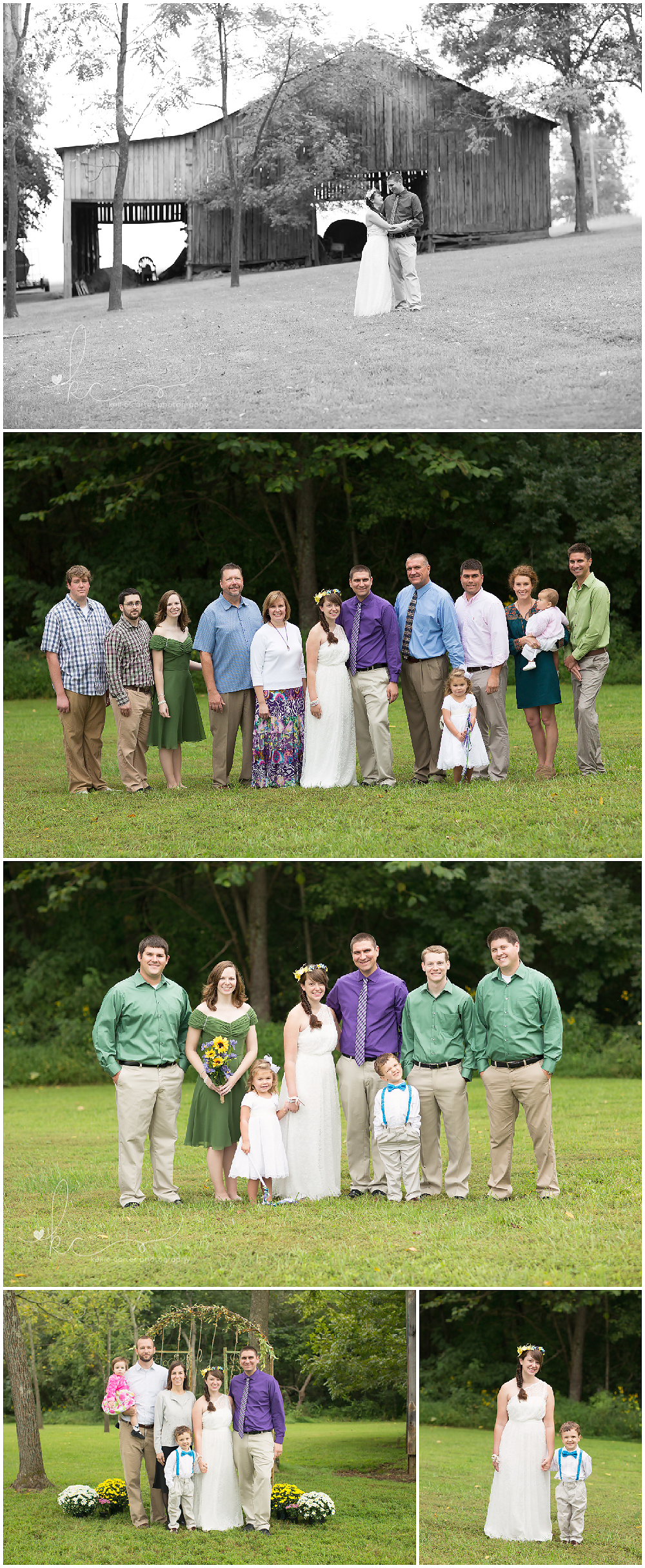 KellieCarterPhotography32 Katy & Gregory are Married {Wedding Photographer, Monticello, KY}