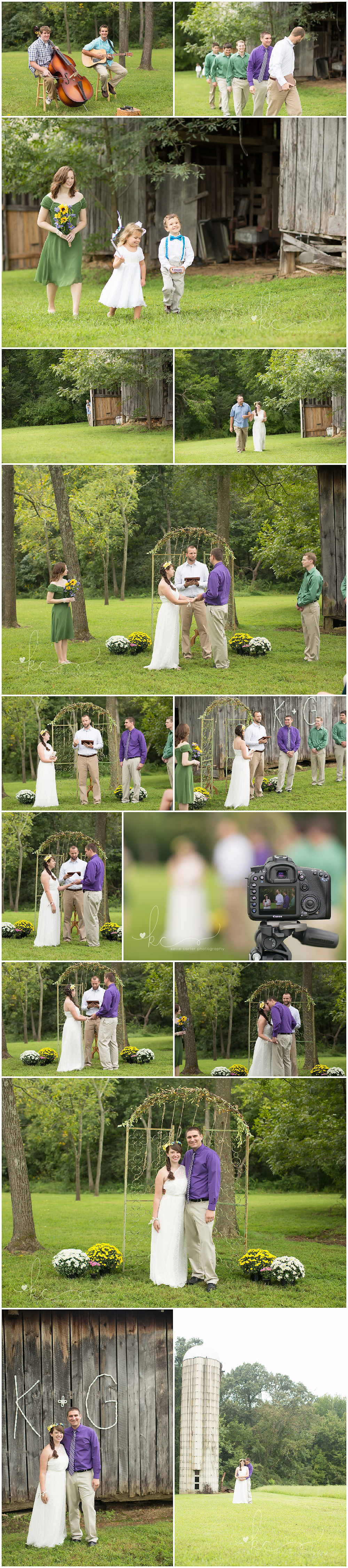KellieCarterPhotography4a Katy & Gregory are Married {Wedding Photographer, Monticello, KY}