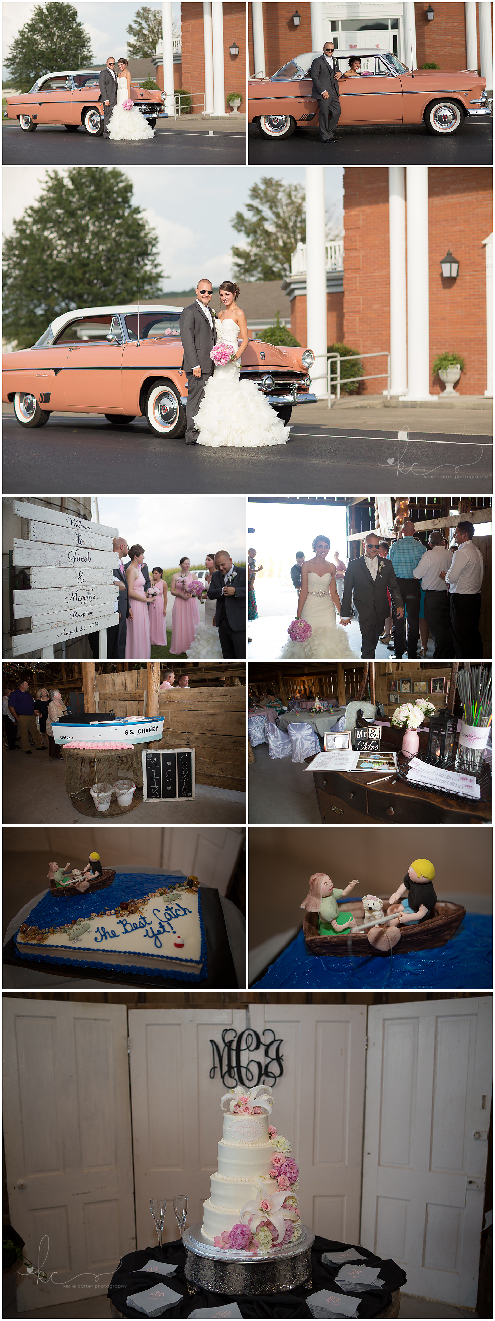 KellieCarterPhotography9 Maggie & Jacob are Married {Monticello KY Wedding Photographer}