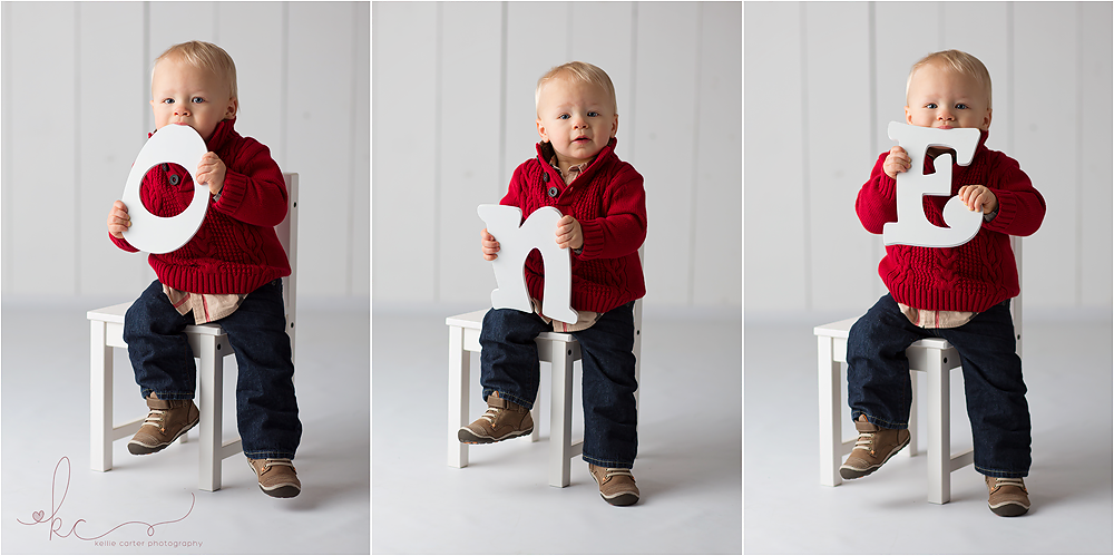 KellieCarterMilestoneSession Myles | First Birthday {Somerset, KY | Child Portrait Photographer}