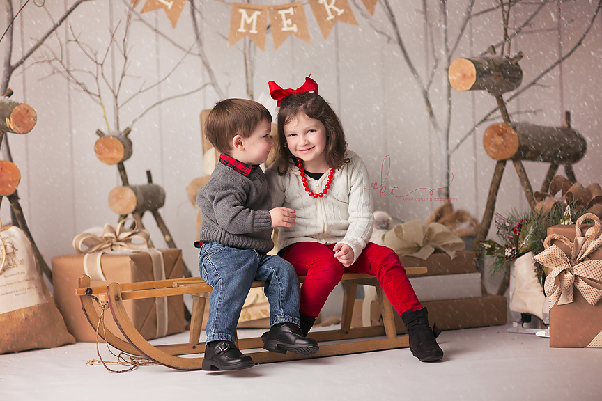 KellieCarterPhotography2 Happy Holidays from Trey & Chloe {Somerset, KY | Child Portrait Photographer}