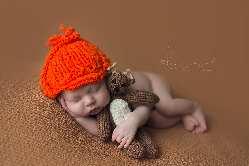 Newborn Photography by Kellie Carter, studio photographer located in South Central Kentucky