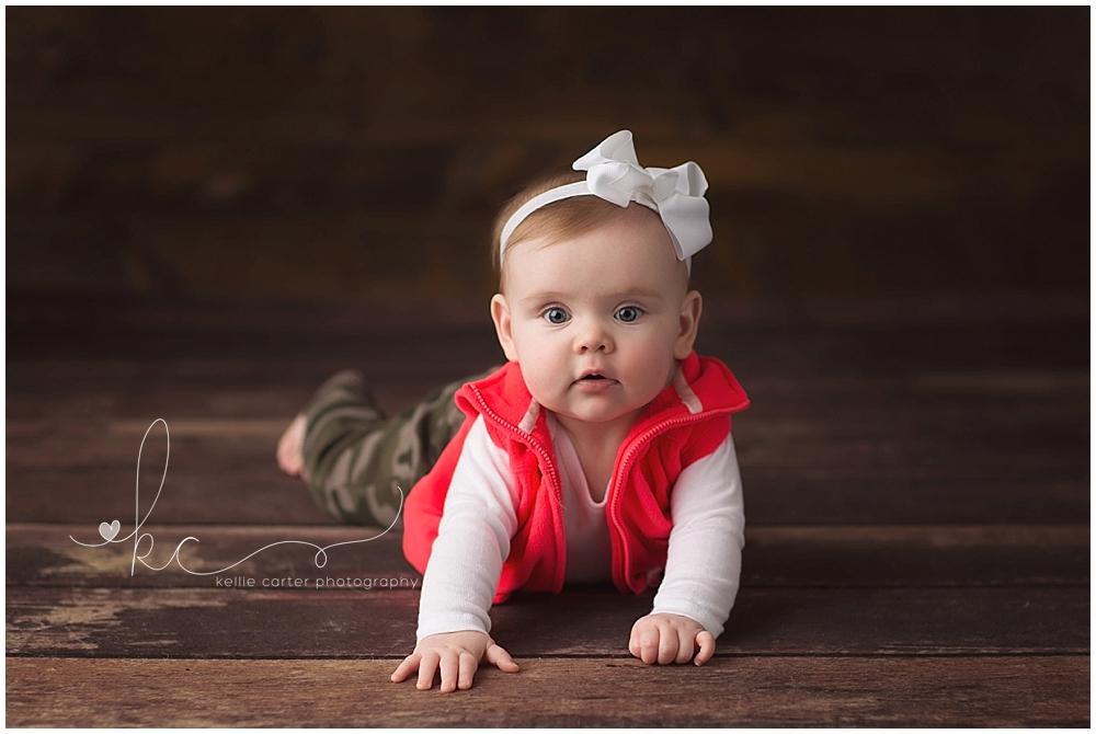 Kellie Carter Child Milestone Photographer